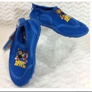 c4b74cb6f9f8 Nickelodeon Paw Patrol Aqua Socks 5/6 Water Shoes